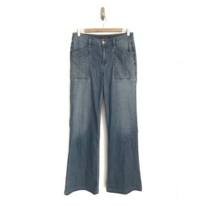 Level 99 Anthropologie 28 Evelyn Wide Leg Jeans